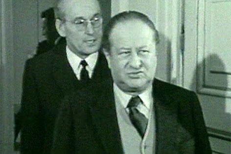 Josef Staribacher und Bruno Kreisky