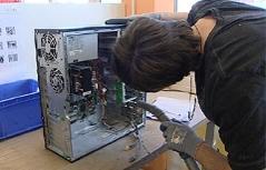 Computerwerkstätte Lehre Lehrling Elektro PC