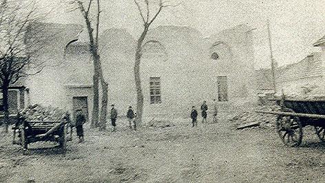 Altes Foto: Synagoge Frauenkirchen