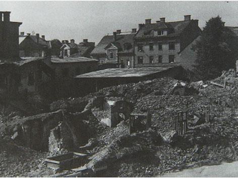Bombenangriff 1944 Klagenfurt