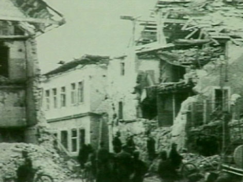 Bombenangriff Klagenfurt 1944