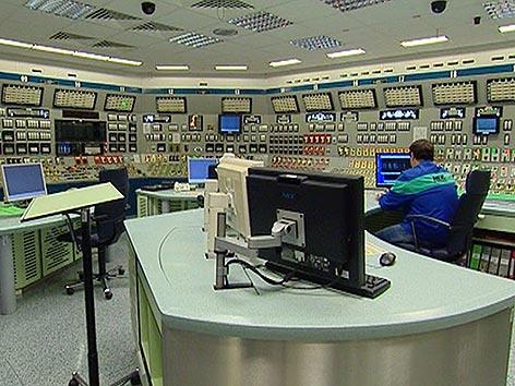 AKW Krsko Kontrollraum