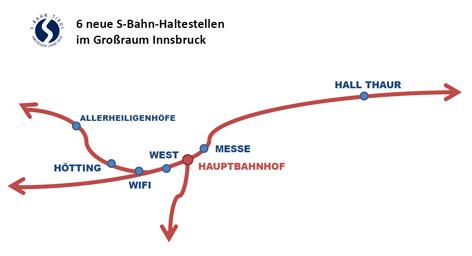 Neue Haltestellen entlang der S-Bahn