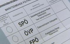 Gemeinderatswahl Pölfing Brunn