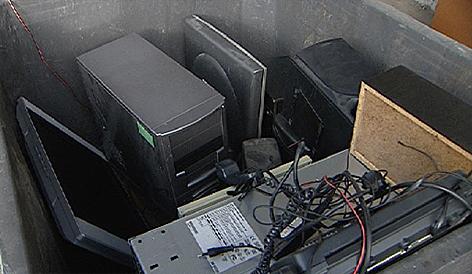 PC Müll Kupfer Altstoffe Altmetall Altkupfer Recycling