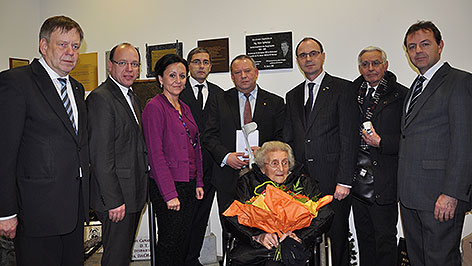 Gedenkfeier für Hans Sylvester