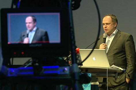 Richard Grasl, Kaufmännischer Direktor des ORF