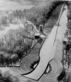 Cobenzl-Schanze-Entwurf von Adolf Hoch