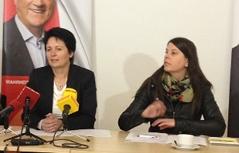 Waltraud Dietrich und Martina Schenk