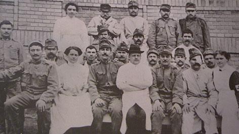 Bild aus dem ersten Weltkrieg