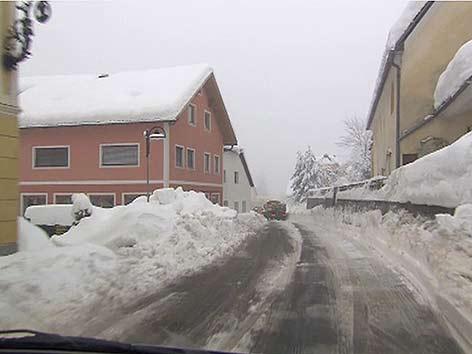 Bad Bleiberg Schnee