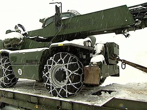 Stromausfälle Schnee Aufräumen Heer
