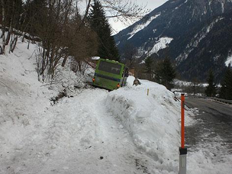 Busunfall Bezirk Spittal Drau