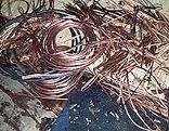 Kupferkabel bei Brand sichergestellt