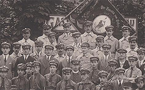 Sozialdemokratischer Schutzbund Sozialdemokraten 1930er-Jahre SPÖ in Hallein