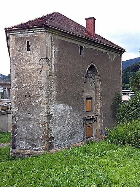 Heiligen Geist Kapelle in Bruck an der Mur vor Restaurierung