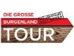 """Logo """"Die große Burgenland Tour"""" - Das Abenteuer geht weiter"""