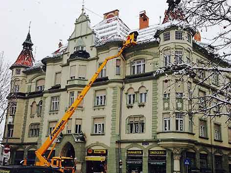 Schneeräumung Klagenfurt Dach