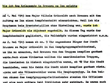 Dokumente Braunau