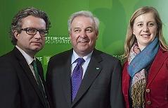 Christopher Drexler, Hermann Schützenhöfer, Barbara Eibinger