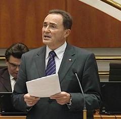 Helmut Bieler im Landtag