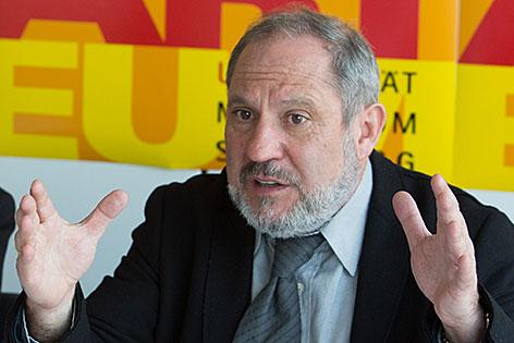 Siegfried Mauser, Rektor der Kunstuniversität Mozarteum