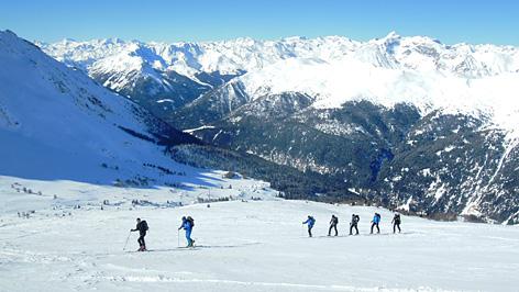 Winterliche Skitour