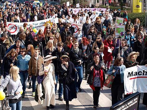 Frauenrechtdemo in Graz