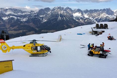 Skiunfall in Ellmau, 15-Jähriger Deutscher