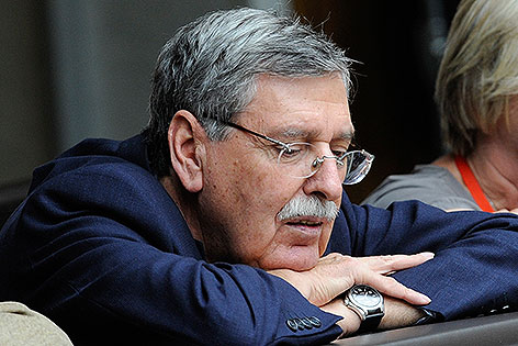 Norbert Steger im September 2011 im Parlament