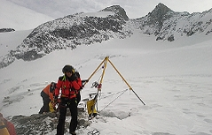 Spaltensturz auf dem Gabler bei Krimml Einsatz der Bergrettung und zweiter Notarzthubschrauber