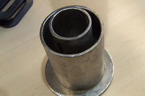 Rohr zur Erdgasgewinnung