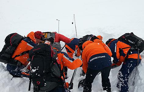 Zauchensee Bergrettung Bergretter Freerider tot geborgen