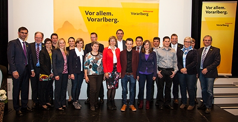ÖVP Kandidaten Bezirk Feldkirch