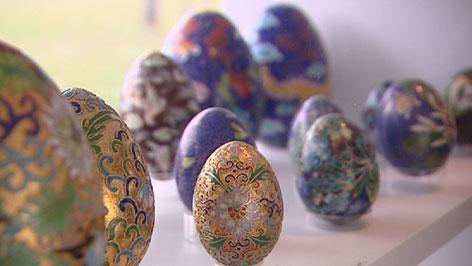 Wander Bertonis Eiersammlung