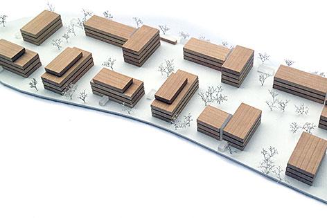 Visualisierung Wohnbauprojekt Bärgründe