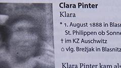 Wer war Klara Šentlipš žrtve nacizma Brigitte Entner zgodovinarka