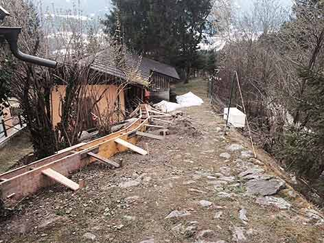 Radlach Mure bedroht Häuser