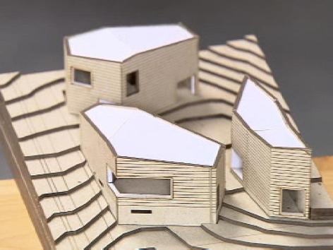 Cusco Bildungshaus Modell