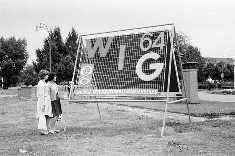 Reklame für die WIG 64
