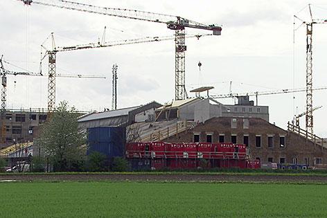Baustelle Panzerhalle
