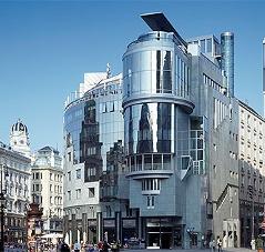 Haas-Haus auf dem Wiener Stephansplatz