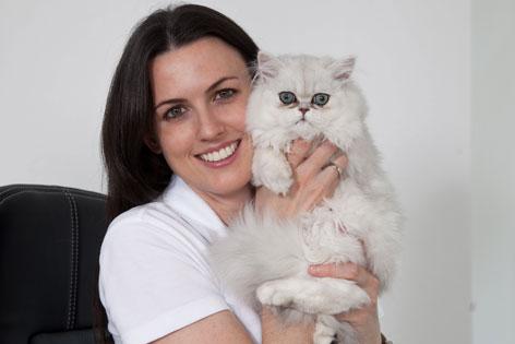 Tierärztin Dr. Melanie Bertignol-Spörr