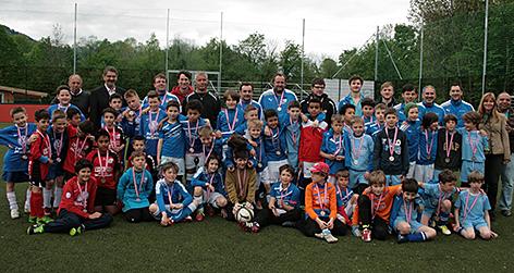 Kinder- und Jugendturnier von Halleiner Clubs gegen Maccabi München im Frühling 2014