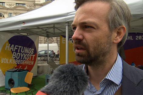 Martin Ehrenhauser, EU-Spitzenkandidat von Europa Anders.