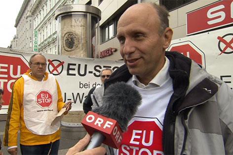 """Robert Marschall, Spitzenkandidat  """"EU-Stop"""""""