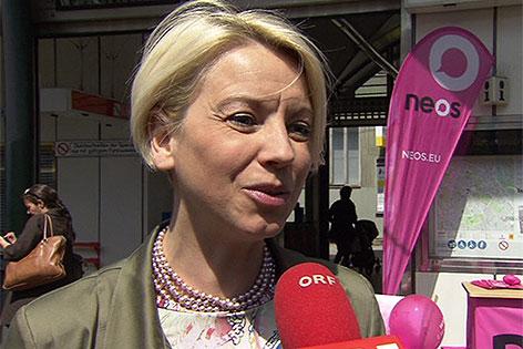 NEOS-Spitzenkanditatin für die EU-Wahl, Angelika Mlinar