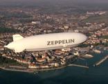 Mit dem Zeppelin über den Bodensee