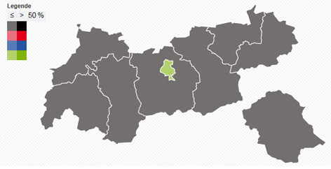 Ergebnis EU-Wahl Tirol