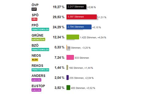 Ergebnis Wiener Neustadt